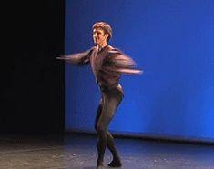 Ballet male dancer