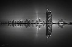 Burj Khalifa Burj Al Arab and Jumeirah Beach Hotel shot from The Palm Dubai UAE [2000x1320]