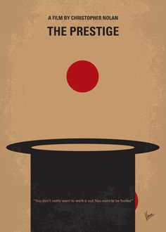 The Prestige (2006) ~ Minimal Movie Poster by Chungkong #amusementphile