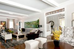 beautiful whole house remodel - traditional living room by Mary Prince