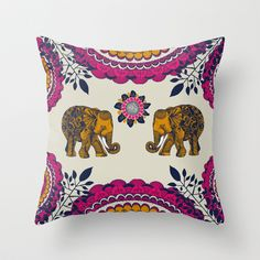 Outdoor pillow covers Throw Pillow by Rskinner1122 - $20.00