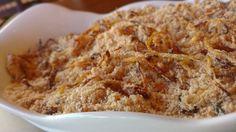 farofa de cebola dourada delicioso acompanhamento aprenda a receita