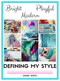 Would you like to define your personal style, identify what you like and help shape your future purchases? Free Pattern, How To Find Out, Personal Style, Dots, Paper Crafts, Bohemian, Interiors, Shapes, My Style