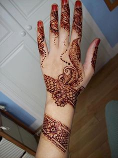 #mehendi #henna #hand #design #pretty #beautiful