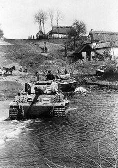 Tiger 1. Russia. 1944.
