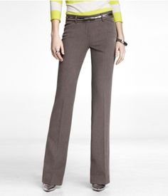 TWEED EDITOR PANT | Express