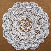 Round Ribbed Doily - via @Craftsy