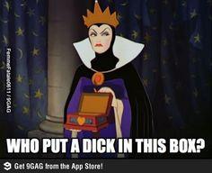 Evil Queen is not pleased
