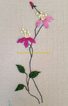 The Beauty of Japanese Embroidery - Embroidery Patterns Hand Embroidery Tutorial, Embroidery Flowers Pattern, Learn Embroidery, Hand Embroidery Stitches, Silk Ribbon Embroidery, Hand Embroidery Designs, Embroidery Techniques, Embroidery Thread, Flower Patterns