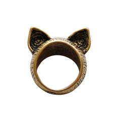 Bengal Cat Ring – Meowingtons: Awww! Just like our Masi's ears! <3