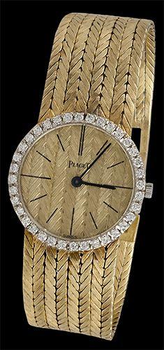 »✿❤Golden❤✿« PIAGET Diamond Bezel Watch - Yafa Jewelry