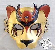 Egyptian Warrior Goddess Sekhmet Lioness by B3leatherdesigns, $140.00