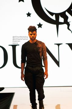 DUNYAH #ArtHeartFashion @AIDSHealthcare #fashion #Menswear #style #runway #LAFashionWeek #LAFW