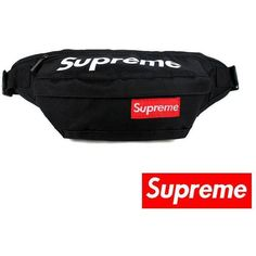 Free shipping supreme bum Bag Fanny bags supreme Waist Pack 7 color for choice phone bag key bag christmas gift camera bag found on Polyvore featuring polyvore, women's fashion, accessories, tech accessories, bags, key pouch, camera bag, key purse and key bag