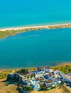 Beach Cacela Velha - Fort and small walled village, Algarve #Portugal
