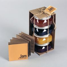 The Jam | Packaging by Jessica Y. Wen, via Behance