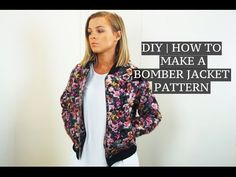 DIY | How To Make A Bomber Jacket Pattern | Josh Barnett