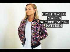 DIY | How To Make A Bomber Jacket Pattern | Josh Barnett