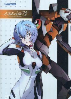 Neon Genesis Evangelion EVA clear file folder promo Ayanami Rei