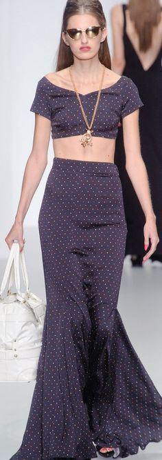 London Fashion Week Spring 2014 - PPQ   If I had the body....love