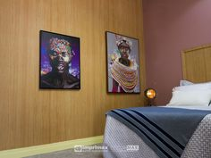 """Assista o sétimo episódio da série """"PROJETO CRIATIVO""""! A Imprimax forneceu espaço e materiais para que arquitetos e designers de interiores esbanjassem toda a sua criatividade, mostrando as possibilidades da utilização de vinis autoadesivos na decoração de ambientes. Confira agora o resultado incrível e conceitual que a design de interiores STELLA LINGUANOTTI criou. Designers, Bed, Frame, Furniture, Home Decor, Vinyls, Architects, Creative, Decorating Ideas"""