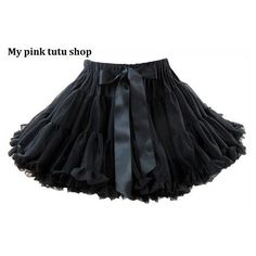 Adult Pettiskirt Ruffle Petite Skirt Birthday Tutu Skirt Ballerina... ($40) ❤ liked on Polyvore featuring skirts, black, women's clothing, chiffon skirt, petite skirts, black tutu, long skirts and black ruffle skirt