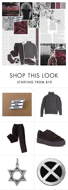"""""""i feel like i'm being consumed .::. erik lehnsherr"""" by azia-lou-who ❤ liked on Polyvore featuring Marvel Comics, LOFT, Cape Robbin and MANGO"""