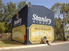 The Big Wine Cask, Burronga, NSW, Australia.