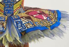 West African Cloth meets Ballet!! Yinka Shonibare Image Via: Blain Southern