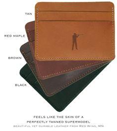 Ball and Buck: A Minimalist Wallet for Real Men - 100% USA by Mark Bollman — Kickstarter