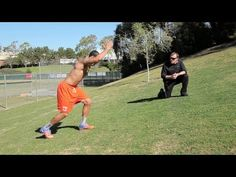 Velocity NFL Combine Training: Hill Run-Explosive Start Combo Football And Basketball, Football Players, Basketball Highlights, Runner Tips, Stand Up Comedy, New Politics, Playlists, Workout Programs, Weight Lifting