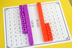 place value activities, place value games, place value in first grade