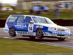 Volvo in the '94 BTCC series, turning heads with their wagons (saloons).