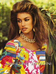Adrienne Vittadini ad 1992 feat Susan Holmes