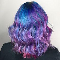 BLURPLE  #houseofcolor #colorado #denver #coloradosprings #coloradosalon #coloradospringssalon #coloradohairstylist #coloradospringshairstylist #modernsalon #americansalon #behindthechair #hotonbeauty #hair #hairstylist #hairinspiration #hairgoals #licensedtocreate #pulpriotorbust #pulpriothair #btconeshot_color16 #btconeshot_rainbow16 #btconeshot_creativecolor16 #btconeshot_hairpaint16 #vividhair #balayage #mermaidhair #mermaidians #rainbowhair #btconeshot_haircolor16