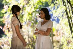 Filomena questiona a irmã sobre o que ela sente por Romeu (Foto: Ellen Soares / Gshow)
