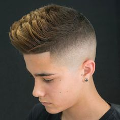 High Skin Fade Undercut + Spiky Hair + Line Up Best Fade Haircuts, Fade Haircut Styles, Low Fade Haircut, Haircuts For Men, Hair Styles, High Skin Fade, Quiff Hairstyles, Great Hairstyles, Hairstyle Man