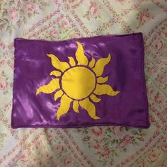 Hey, I found this really awesome Etsy listing at https://www.etsy.com/listing/262295481/rapunzel-golden-flower-flag-kingdom-with