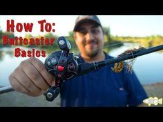 How To Use A Baitcaster: The Basics - YouTube