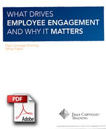 employee engagement performance that matters This will improve staff engagement and ensure higher performance  why  workplace engagement matters and how to improve it.