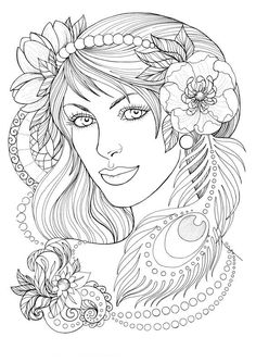 Fashion coloring page Dance Coloring Pages, Fairy Coloring Pages, Coloring Pages For Girls, Coloring Pages To Print, Free Coloring Pages, Coloring Books, Kids Coloring, People Coloring Pages, Shopkins Coloring Pages Free Printable