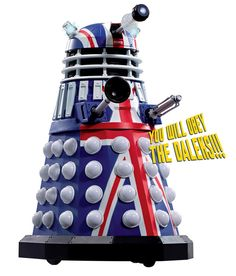 Character options unveils the Doctor Who 12-inch British Icon Dalek