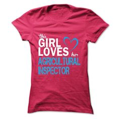This girl love her AGRICULTURAL INSPECTOR T Shirt, Hoodie, Sweatshirt
