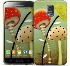 Mushrooms Samsung Case I love #Nuvango