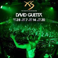 David Guetta démarre sa résidence au XS Las Vegas ! #davidguetta #dj #xslasvegas