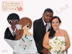Novios personalizados en marco de #fotos o para colocar sobre la #tarta. Una idea superoriginal!!! #boda #evento #madrid #novios #celebracion #moda #fashion #style #glamour #wedding #original #love #chata #JuntosPodemos #lechatnoir Info: contacto@le-chat-noir.es https://artesanio.com/shop/section/9791?shop_slug=le-chat-noir-hecho-a-mano&section_slug=bodas-y-celebraciones