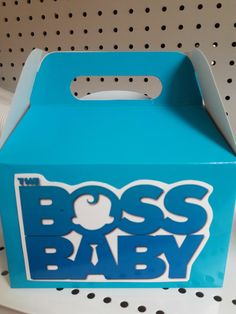 The boss baby candy box