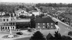 Stanford-le-Hope view from church tower circa 1950