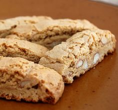 Almond Biscotti - these are more of a cookie verses biscotti.