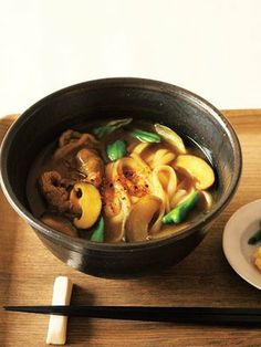 Japanese curry udon. Written in Japanese and many other recipes